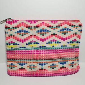 2 Chic Multicolored Cosmetic Bag